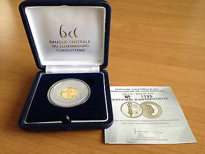 """10 euro """"Gëlle Fra"""" Luxembourg 2013 - au/gold in BOX"""