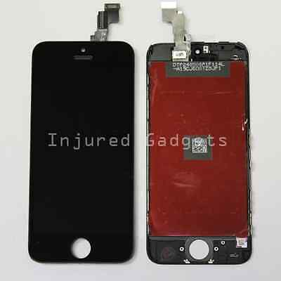 Black Touch Screen Digitizer LCD Display Replacement Assembly for iPhone 5c