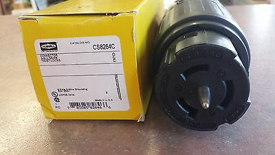 Hubbell CS8264C Connector Twist-Lock  2P-3W  50A  250V  (W7)