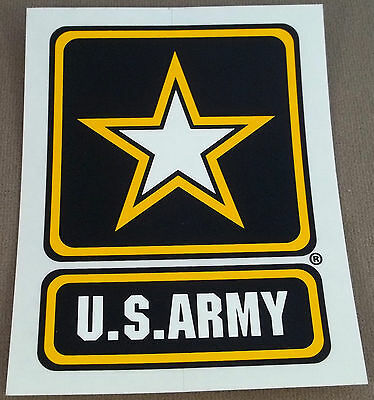 US Army Decal - Sticker - Army Strong Logo - Style B