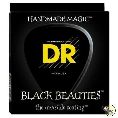 DR Strings K3 BLACK BEAUTIES BASS BKB5-40 40-120 Five String Set