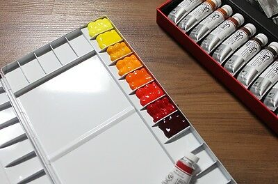 NEW Heungil Aluminum Watercolor Palette 13/20/26/30/35/39/65 Compartments