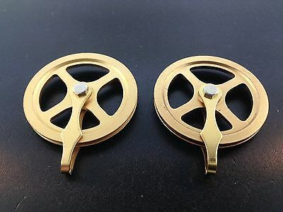 """Original 1 3/4"""" New Kienenger Clock Pulley Set of 2 for the Cable Movements"""