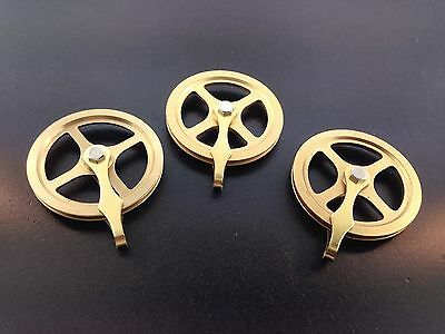 """Kienenger Clock Pulley Set of 3 for the Cable Movements Original 1 3/4"""" New"""