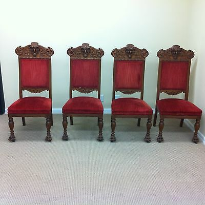 Antique Chairs Attributed to R.J.Horner