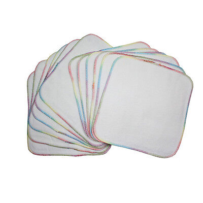Imported Terry Flannel Wipes 12 pack