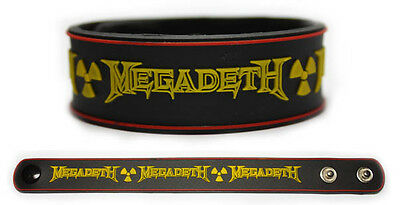 MEGADETH Rubber Bracelet Wristband Countdown to Extinction Rust in Peace