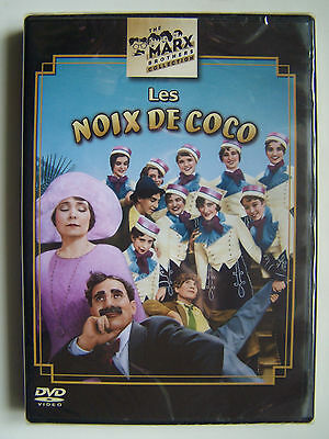 Les Noix De Coco - The Marx Brothers Collection - Dvd Neuf Et Emballe -