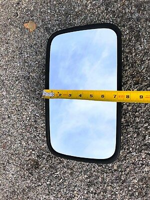 "Large Size 7""x12"" Universal Farm Tractor Mirror, great for John Deere units"