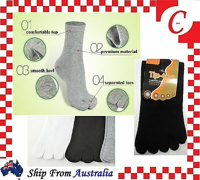 MEN MENS WOMENS toe socks Anti-Bacteria Blister Cotton Five Separated Fingers