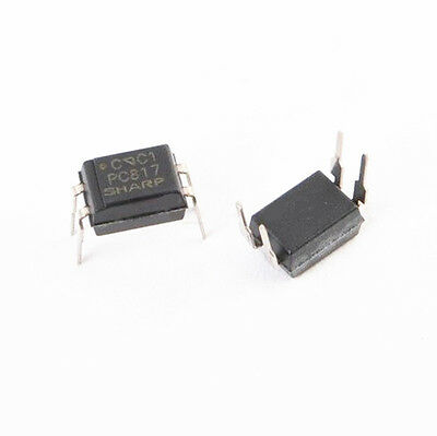 10PCS PC817 PC817C Optocoupler DIP4 SHARP New Orignal