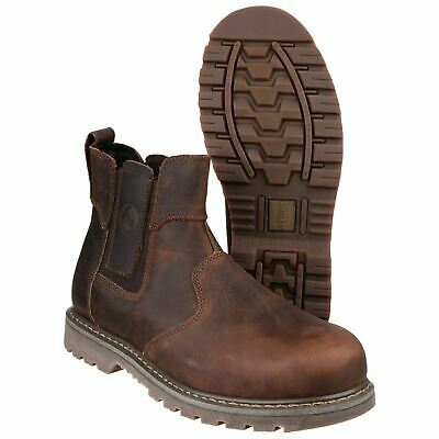 Amblers Brown Dealer Safety Boots Sizes 6-13 FS165