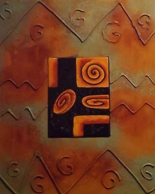 Hand Crafted Celtic Design Art Tile