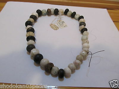 Ancient Iranian beads necklace Mother of lapis stone 13th c