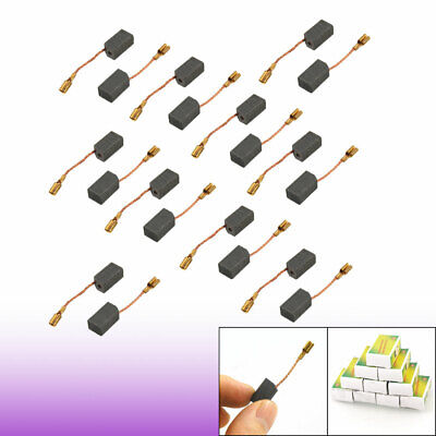 20 Pcs Motor Carbon Brushes 13.6 x 7.8 x 6.1mm for Dewalt 100mm Angle Grinder