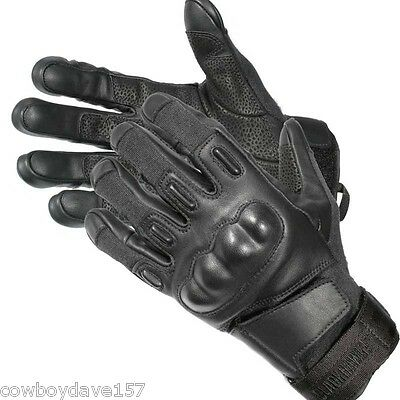 Blackhawk SOLAG Kevlar Assault Gloves 8151LGBK  Large Black Authentic Blackhawk