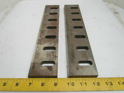 "Zenith Cutter K53116 A00 Granulator Bed Knife Blades 7-Hole 12"" Set of 2"