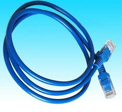 blue free shipping 3-15 FT 1-5M CAT5 CAT5e Ethernet Network Lan Cable hs15 one