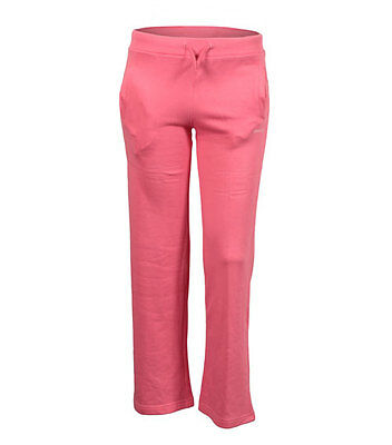 New Reebok Girls Junior Kids Jogging Tracksuit Bottoms, Joggers, Trackies - Pink