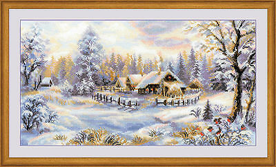 Riolis Counted Cross Stitch Kit - Winter's Evening