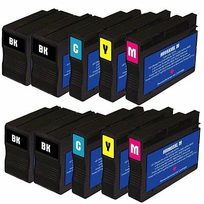 10x Chipped Ink Cartridges 932xl 933xl For HP Officejet 6100 6600 6700 Printer