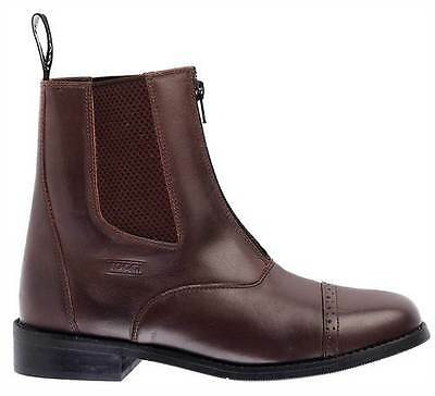 Toggi Augusta Brown black Leather riding Jodphur boots