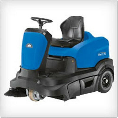 36 inch Ride-On Sweeper with Dust Control, Radius 360 Sweeper, Windsor
