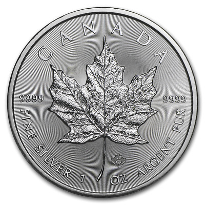 Pièce Argent 1 Once Canada 2019 Maple Leaf