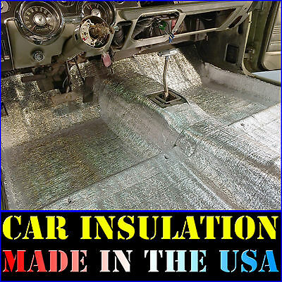 Car Insulation 60 Sqft - Thermal Sound Deadener - Block Automotive Heat & Sound