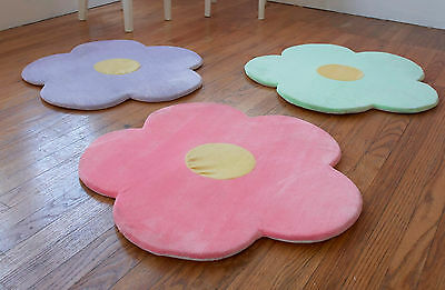 Flower Area Rug for Kids Girls Room Area Rugs, Girls Room Baby Nursery Floor Rug