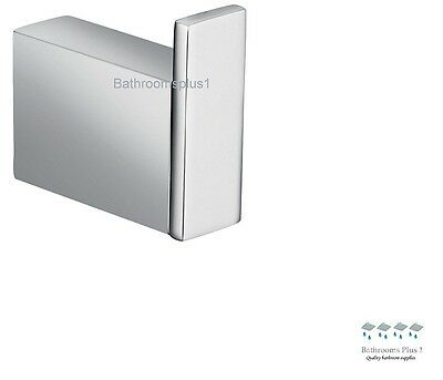 NEW Square Bathroom Accessories Robe Hook / Robe Holder, Stainless Steel Chrome