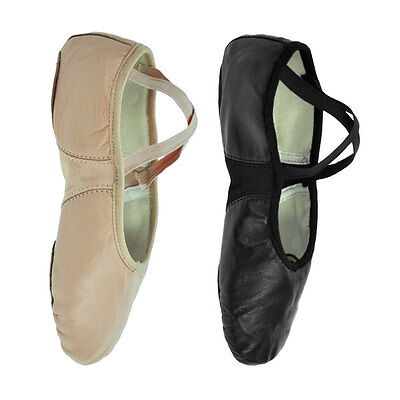 Starlite Flexi Split Sole Leather Ballet Shoes      SALE LIMITED TIME ONLY