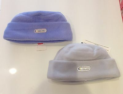 Job Lot 10 Warm Storm Fleece Hats. Lilac & Baby Blue ONLY £24 RRP £15 each!