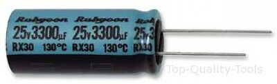 5 X Electrolytic Capacitor, Miniature, 220 µF, 25 V, RX30 Series, ± 20%, Radial
