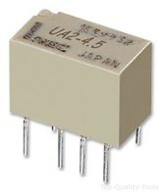 RELAY, DPCO, 2A, 5V, THT, LATCHING Part # KEMET EC2-5SNU