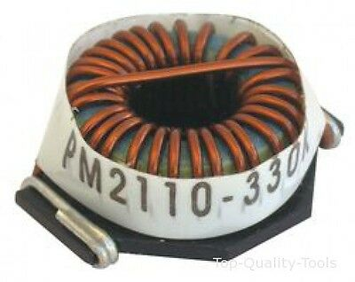 INDUCTOR, TOROID, 18UH, 10%, 11.8A Part # BOURNS PM2110-180K-RC