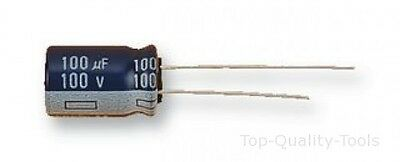 Electrolytic Capacitor, 0.22 µF, 50 V, NHG Series, ± 20%, Radial Leaded, 5 mm