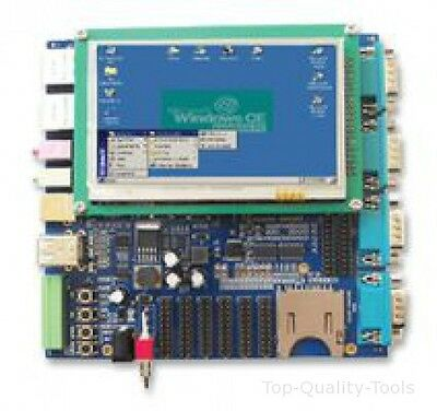 "AT91SAM9263, WITH 4.3IN LCD DISPLAY, SBC Part # EMBEST SBC6300X WITH 4.3""LCD."