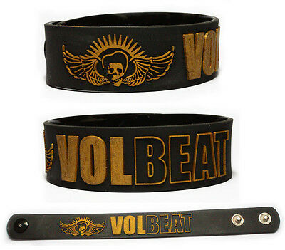VOLBEAT Rubber Bracelet Wristband Outlaw Gentlemen & Shady Ladies