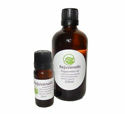 100% Pure Peppermint Essential Oil, Spider, Mouse Repellent, Natural Antiseptic