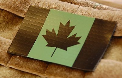 Canadian IR Green Flag Patch JTF-2 CSOR CANSOFCOM SOG Infrared VELCRO® Brand