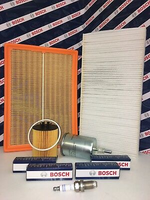 Vauxhall Corsa C 1.2 2000-2006 Full Service Kit Air Oil Fuel Filter And 4 Plugs