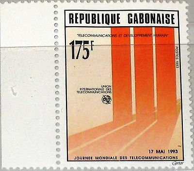GABON GABUN 1993 1151 733 World Telecommunications Day Weltfernmeldetag MNH