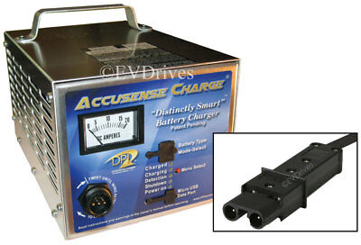 DPI Golf Cart Charger 48V 17A with Yamaha G19 / G22 Connector - Accusense