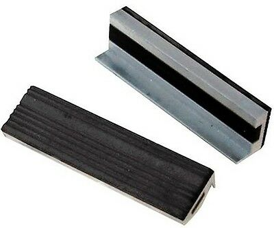 """Soft Vice Jaws Engineers Expert 100Mm 4"""" Magnetic Base Rubber Grip Jaw U202"""
