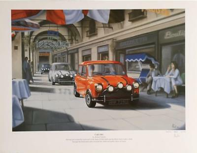 Mini Italian Job Café Olé by Robert Tomlin LTD EDITION