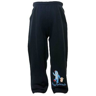 Baby Boys In The Night Garden Iggle Piggle Print Fleece Jog Pants Navy 6mth-3yrs