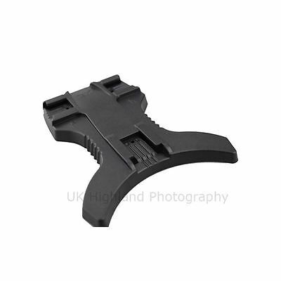 """JJC MF-1 Hot Shoe Flash Stand Holder with 3 Mounts & 1/4"""" thread for Nikon Canon"""
