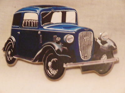 Blue Austin 7 Ruby Car Large Fridge Magnet.new.