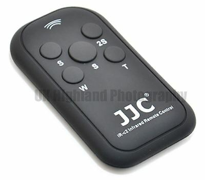 JJC IR-C2 Wireless Infrared Remote Control for Canon 7D 5D 600D G5 as RC-1/RC-6